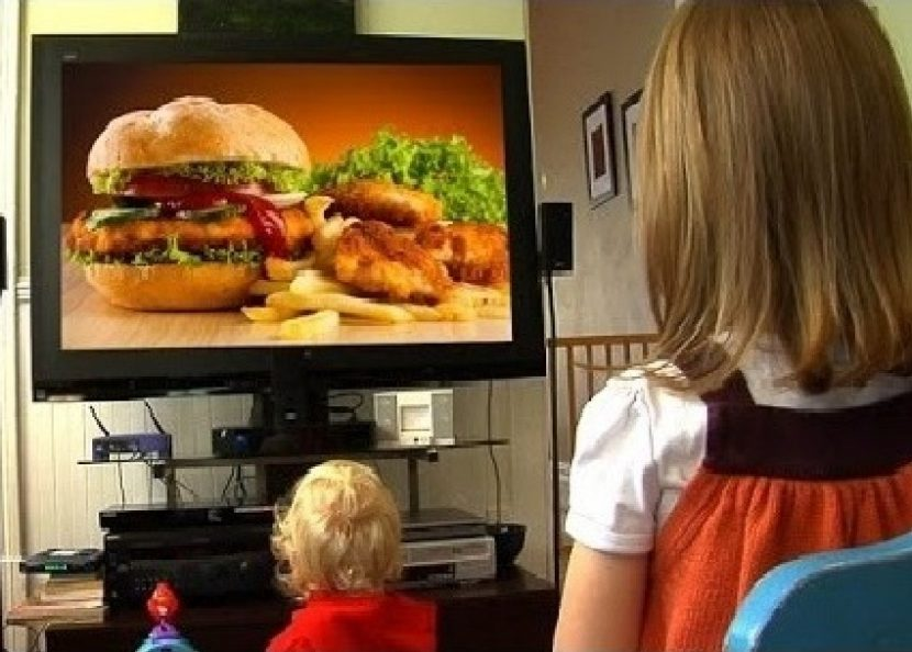 food tv and child